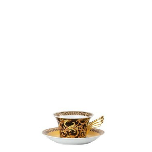Saucer, Low, 6 1/3 inch | Versace Barocco