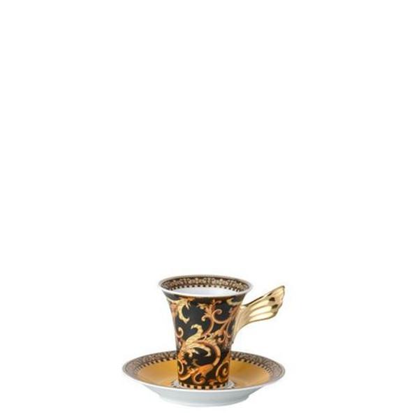 Saucer, High, 6 inch | Versace Barocco