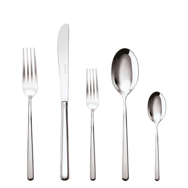 5 Pcs Place Setting (solid handle knife)   Sambonet Linear