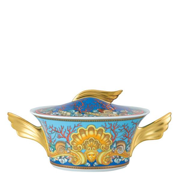 Vegetable Bowl, Covered, 54 ounce | Versace La Mer