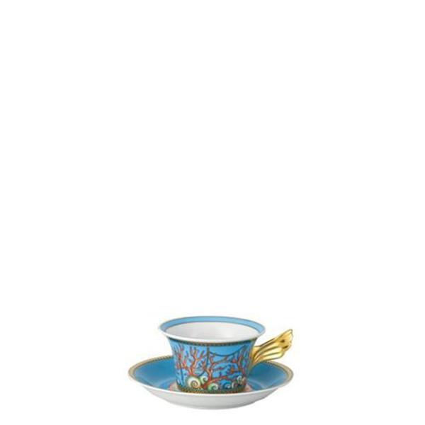 Saucer, Low, 6 1/3 inch | Versace La Mer