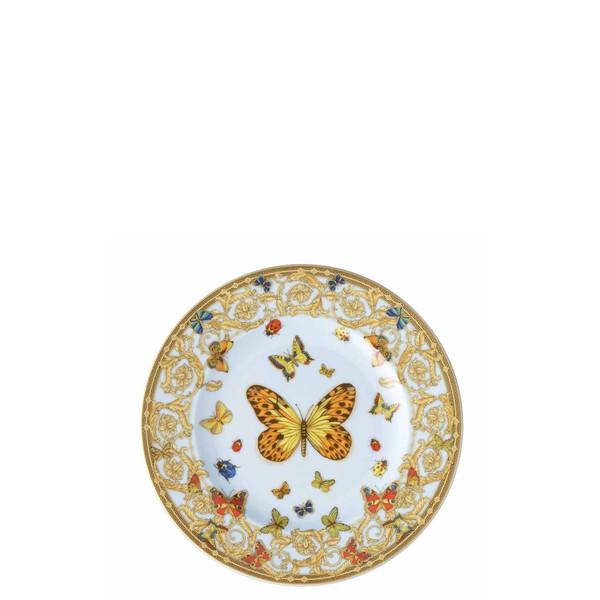 Bread & Butter Plate, 7 inch | Versace Butterfly Garden
