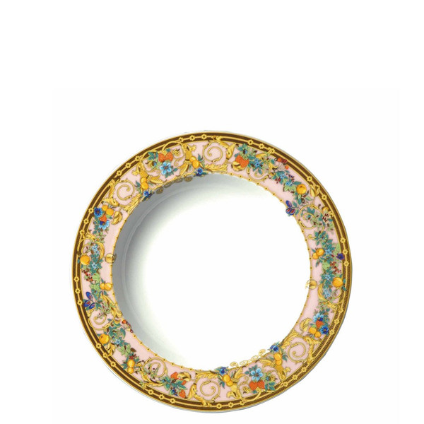 Rim Soup, 8 1/2 inch | Versace Butterfly Garden
