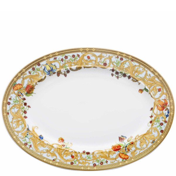 write a review for Platter, 15 3/4 inch | Versace Butterfly Garden