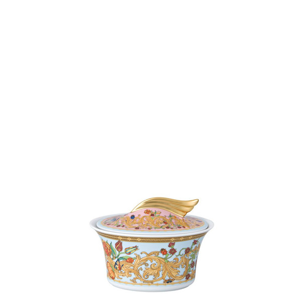 Sugar Bowl, Covered, 7 ounce | Versace Butterfly Garden