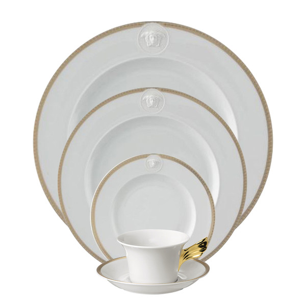 5 Piece Place Setting (5 pps) | Medusa D-Or