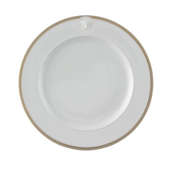 write a review for Dinner Plate, 10 1/2 inch | Versace Medusa D-Or
