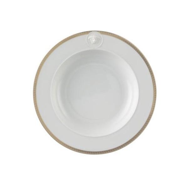 Rim Soup, 8 1/2 inch | Versace Medusa D-Or