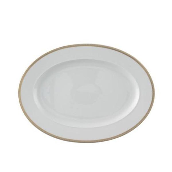 Platter, 13 1/4 inch | Versace Medusa D-Or