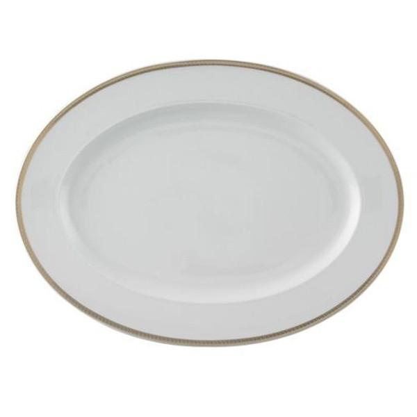 Platter, 15 3/4 inch | Versace Medusa D-Or