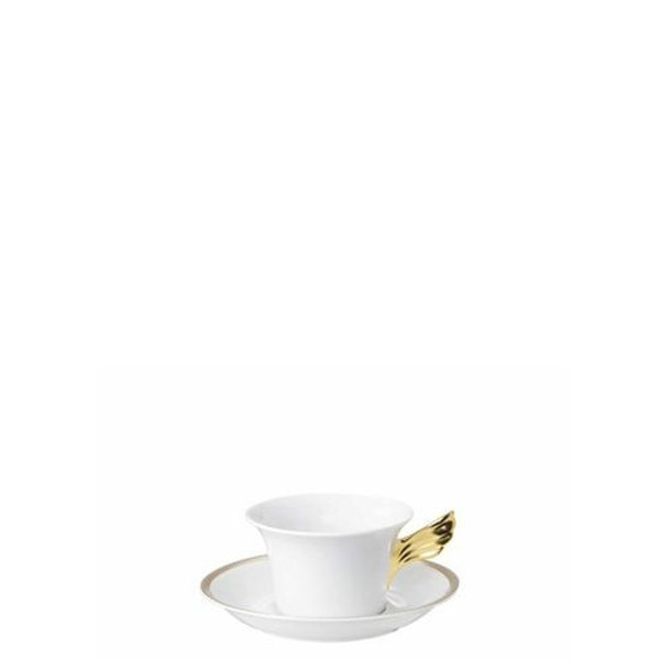 Saucer, Low, 6 1/3 inch | Versace Medusa D-Or