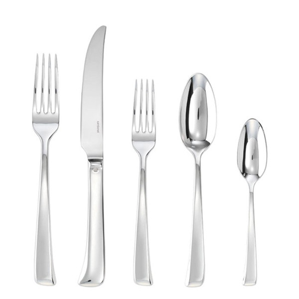 5 Pcs Place Setting (solid handle knife) | Sambonet Imagine