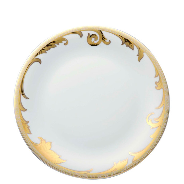 Dinner Plate, 11 1/2 inch | Versace Arabesque Gold