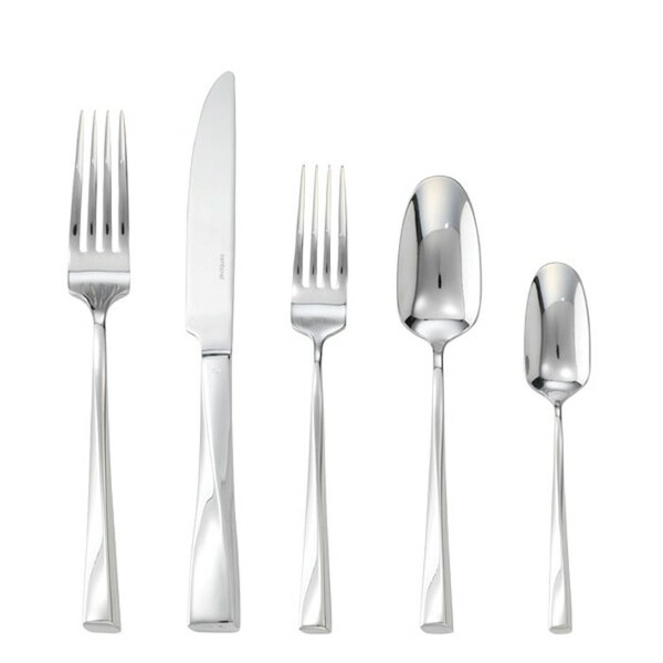 5 Pcs Place Setting (solid handle knife) | Sambonet Twist