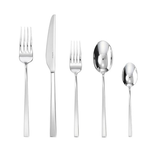 5 Pcs Place Setting (solid handle knife) | Sambonet Linea Q