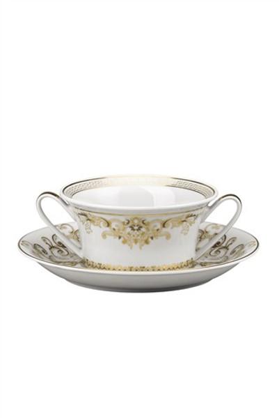 Cream Soup Cup, 10 ounce | Versace Medusa Gala