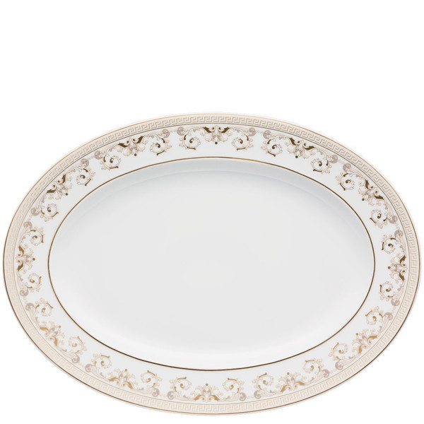 write a review for Platter, 13 1/4 inch | Versace Medusa Gala