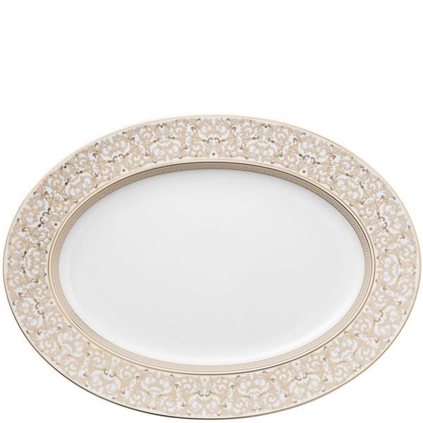 Platter, 15 3/4 inch | Versace Medusa Gala