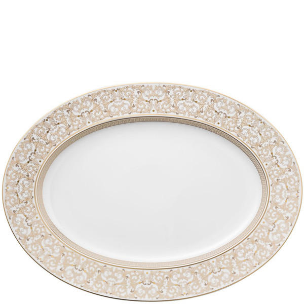 Platter, 15 3/4 inch   Versace Medusa Gala