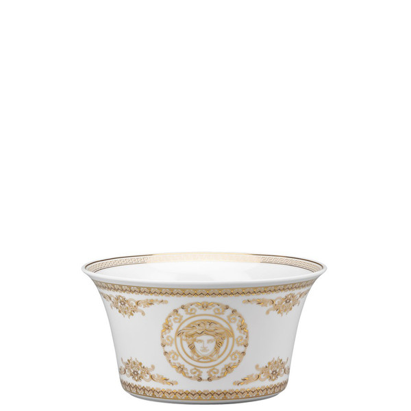 Vegetable Bowl, Open, 7 3/4 inch, 56 ounce   Versace Medusa Gala