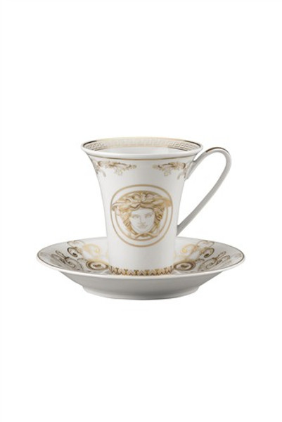 write a review for Coffee Cup, 6 ounce | Versace Medusa Gala