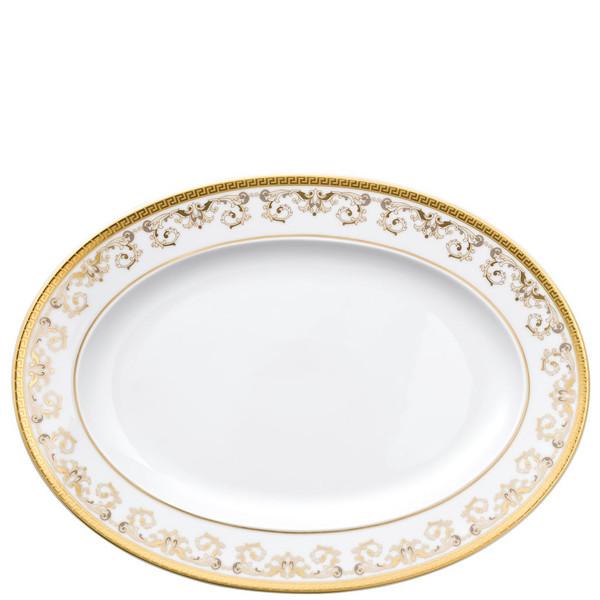 Platter, 13 1/4 inch   Versace Medusa Gala Gold
