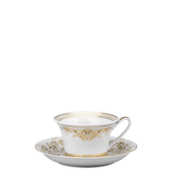 Tea Saucer, 6 1/4 inch | Versace Medusa Gala Gold