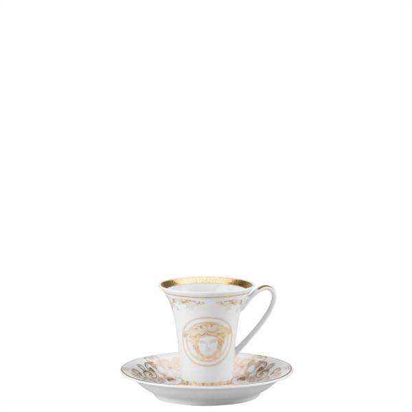 Espresso Saucer, 5 inch | Versace Medusa Gala Gold