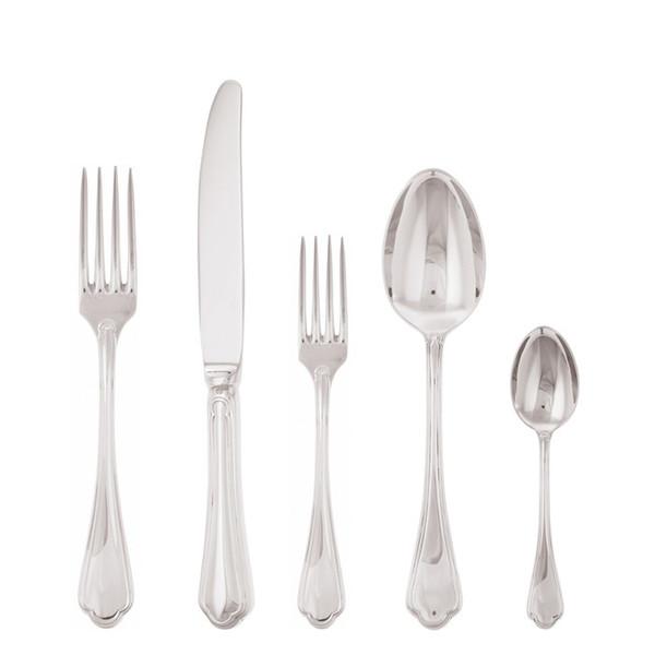 5 Pcs Place Setting (solid handle knife) | Sambonet Filet Toiras