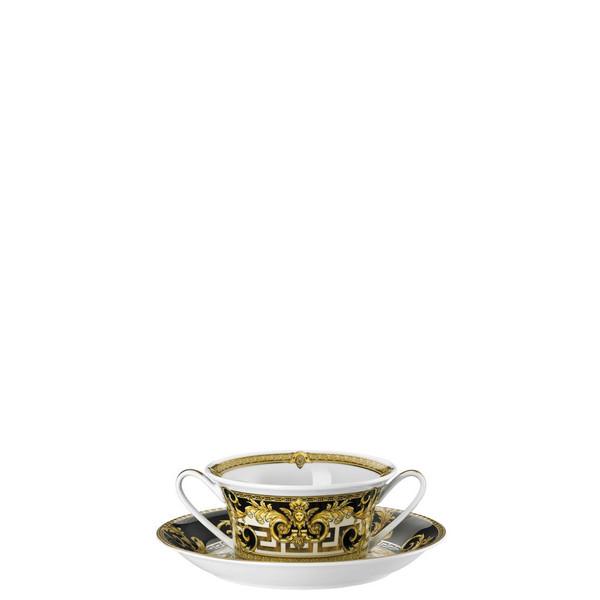 Cream Soup Saucer, 6 7/8 inch | Versace Prestige Gala