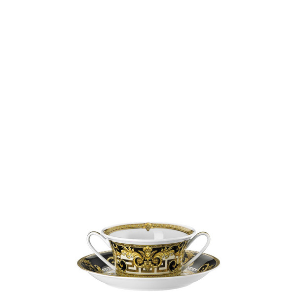 write a review for Cream Soup Saucer, 6 7/8 inch | Versace Prestige Gala