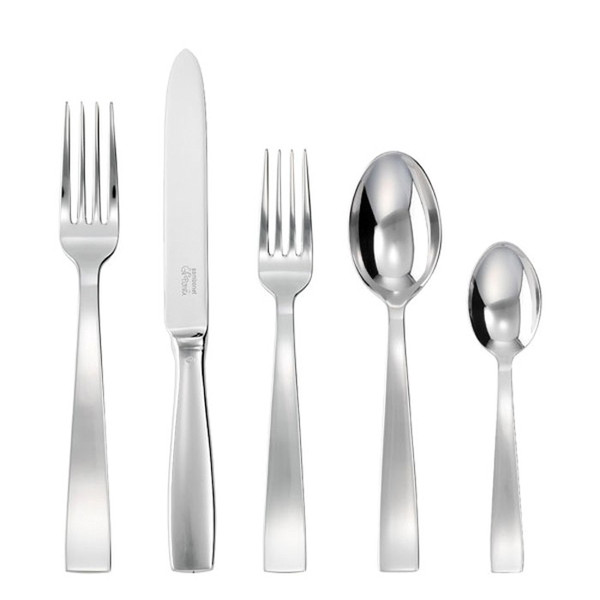 5 Pcs Place Setting (solid handle knife) | Sambonet Gio Ponti
