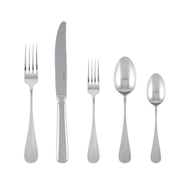 5 Pcs Place Setting (solid handle knife) | Sambonet Baguette