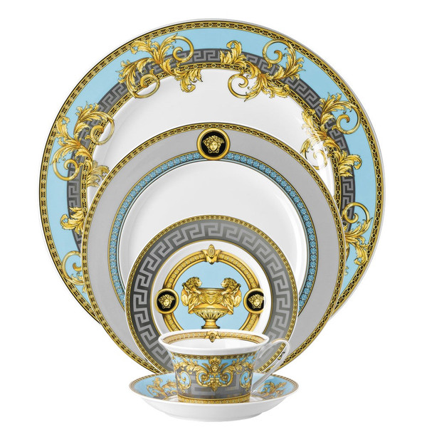 write a review for 5 piece Dinnerware Set | Prestige Gala Bleu