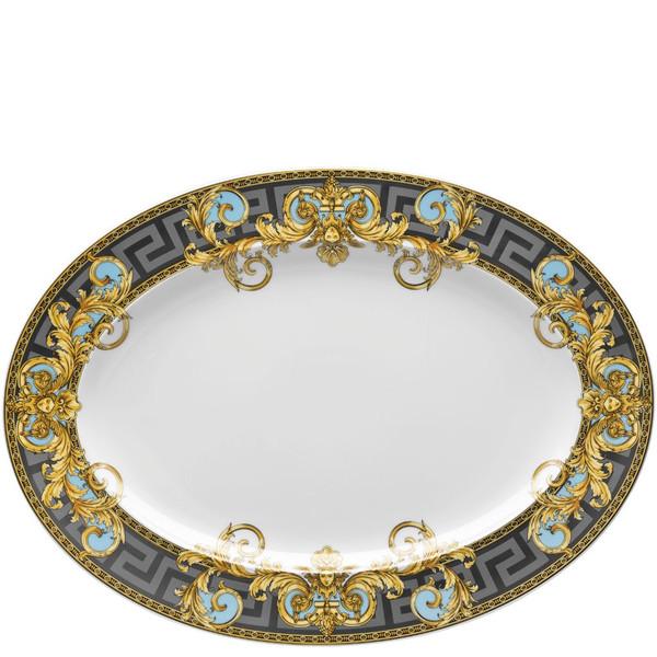 Platter, 15 3/4 inch | Versace Prestige Gala Bleu