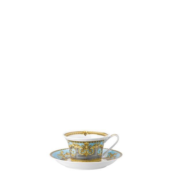 Tea Saucer, 6 1/3 inch | Versace Prestige Gala Bleu