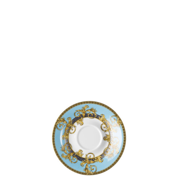 Coffee Saucer, 6 inch | Versace Prestige Gala Bleu