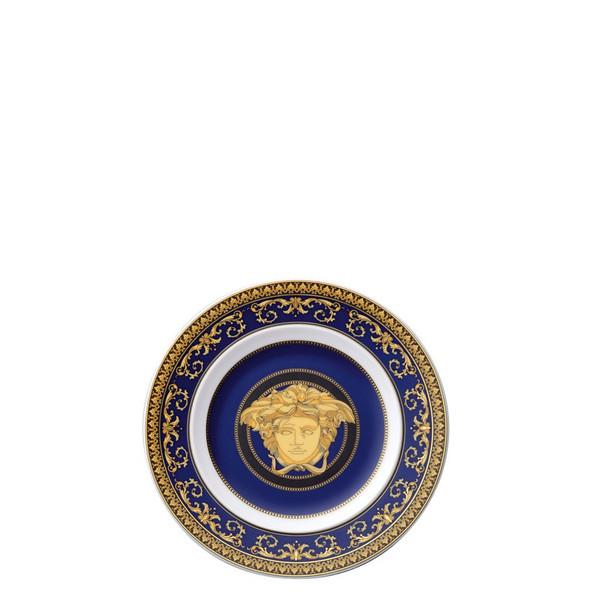Bread & Butter Plate, 7 inch | Versace Medusa Blue