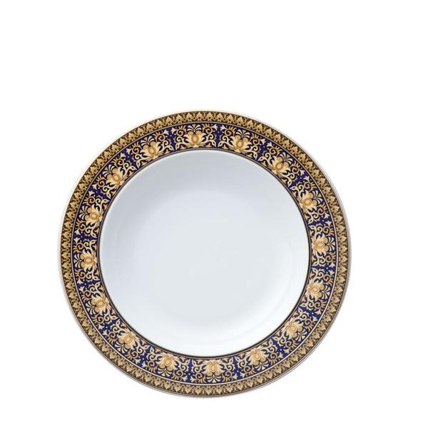 Rim Soup, 8 1/2 inch | Versace Medusa Blue