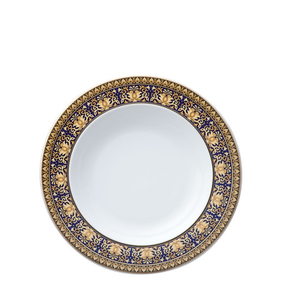 write a review for Rim Soup, 8 1/2 inch | Versace Medusa Blue