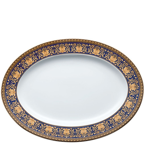 write a review for Platter, 13 1/4 inch | Versace Medusa Blue