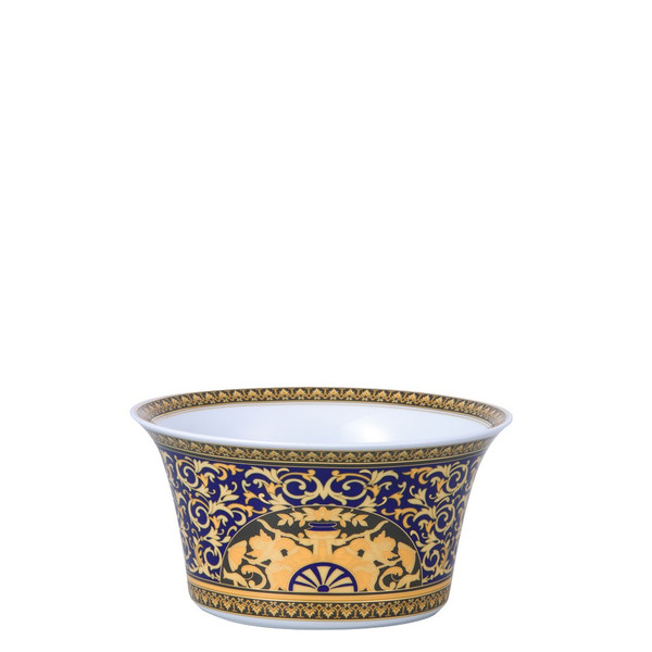 write a review for Vegetable Bowl, Open, 8 inch | Versace Medusa Blue