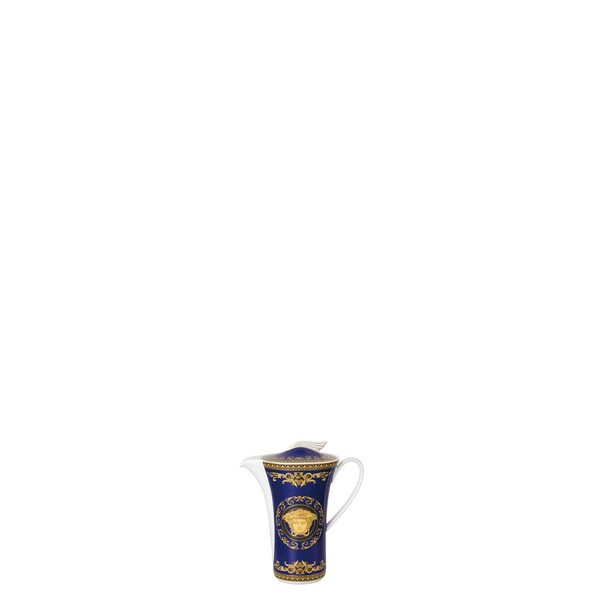 Coffee Pot, 40 ounce | Versace Medusa Blue