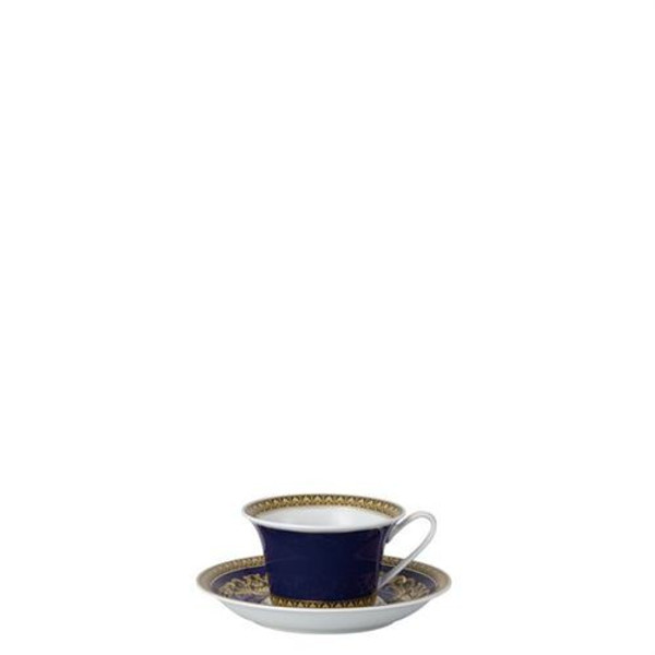 Cup, Low, 7 ounce | Versace Medusa Blue