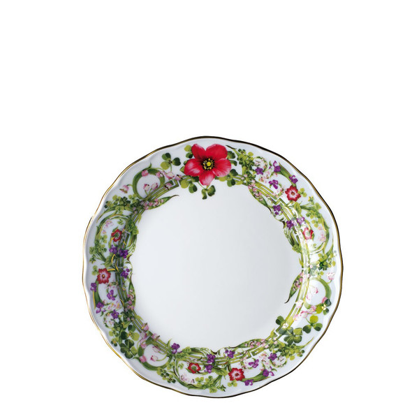 Salad Plate, 8 1/4 inch | Versace Flower Fantasy