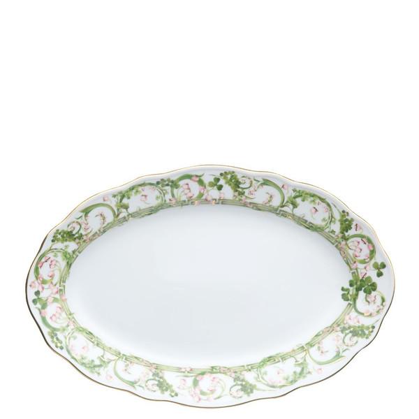 Platter, Oval, 12 inch | Versace Flower Fantasy