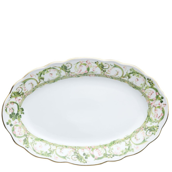 Platter, 13 3/4 inch | Versace Flower Fantasy