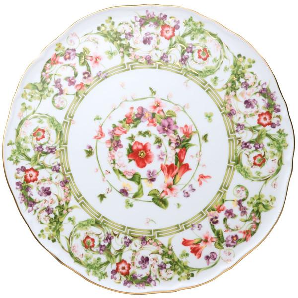 Tray, Tart Platter, 12 2/3 inch | Versace Flower Fantasy