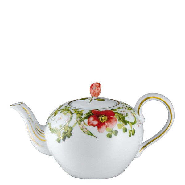 Tea Pot, 33 1/3 ounce | Versace Flower Fantasy