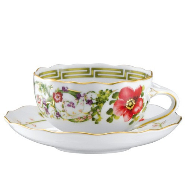 Tea Cup, 7 1/3 ounce | Versace Flower Fantasy
